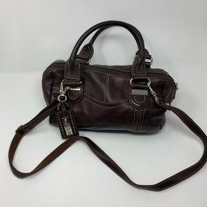 Tignanello brown leather purse
